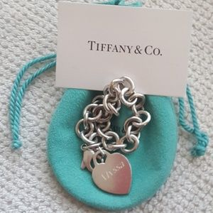 Return to Tiffany Heart Tag Charm Bracelet